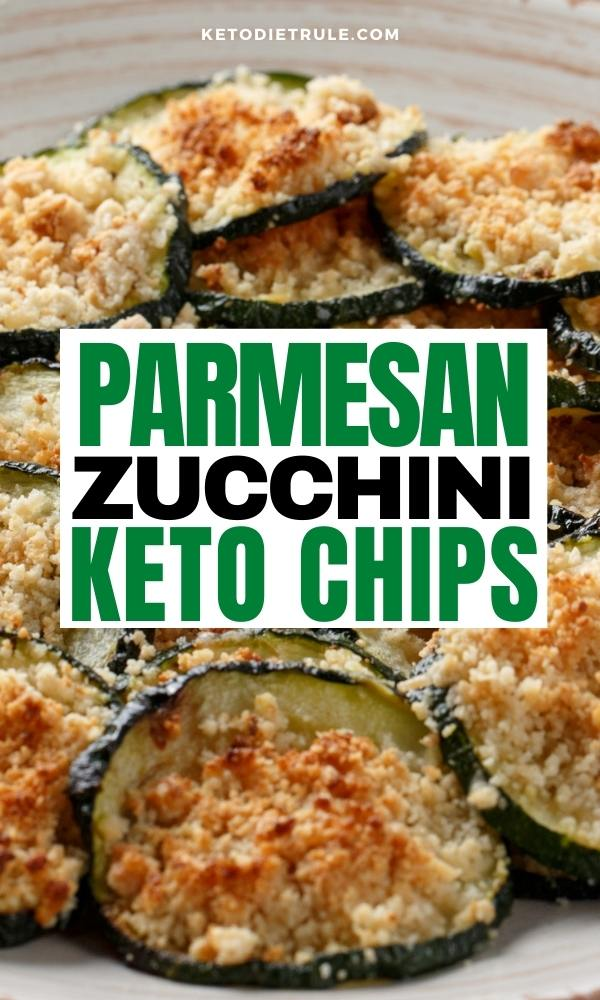 Keto Zucchini Chips Recipe With Parmesan Cheese
